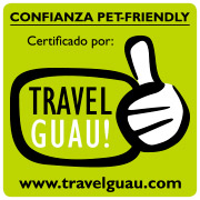 Logo de travel guau
